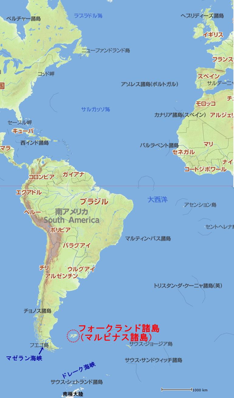 地図 パラグアイ